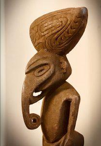 Charme Ramu, Papouasie Nouvelle Guinée, bois, XXe siècle.