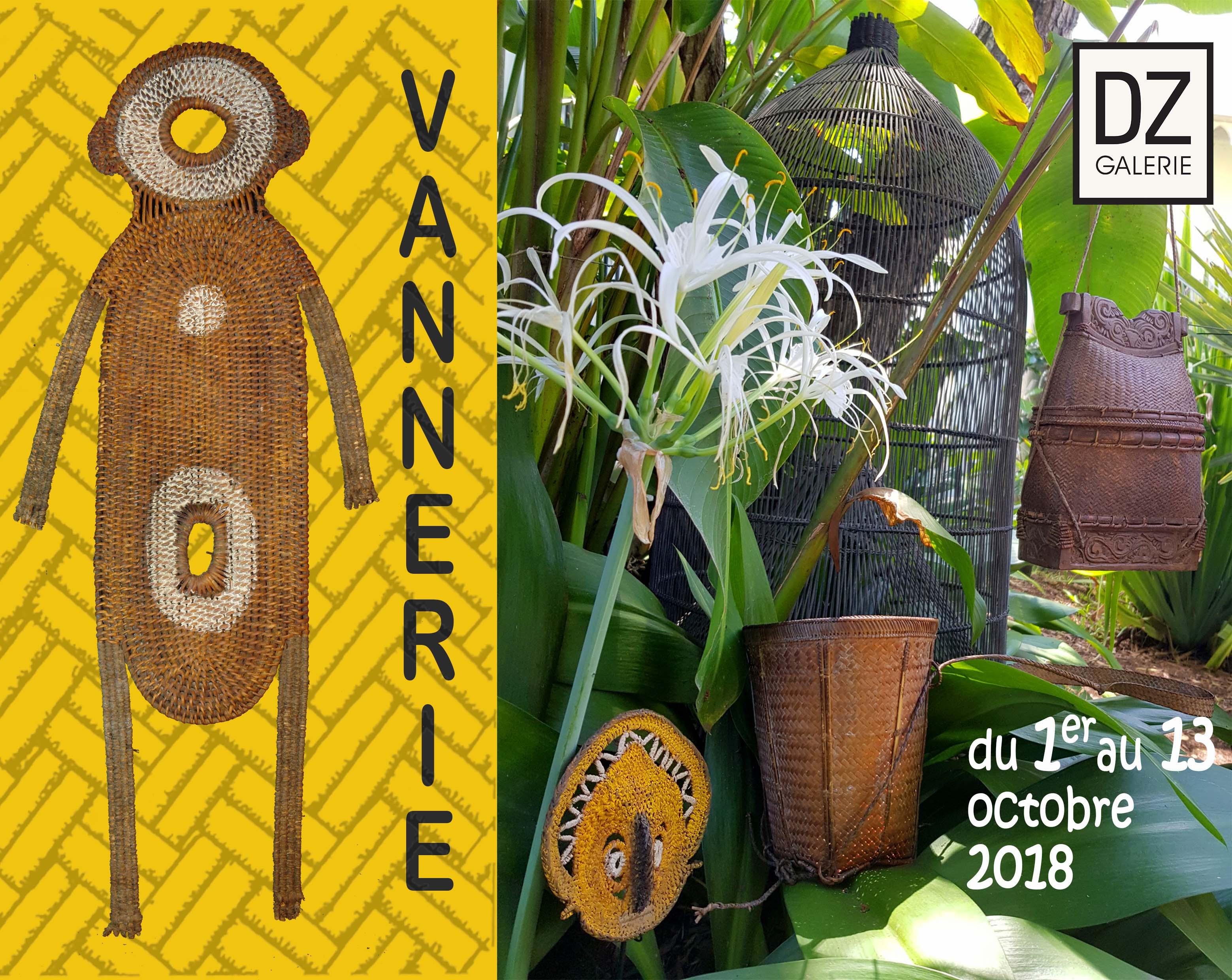 VANNERIE, du 1er au 13 octobre – NOUMÉA