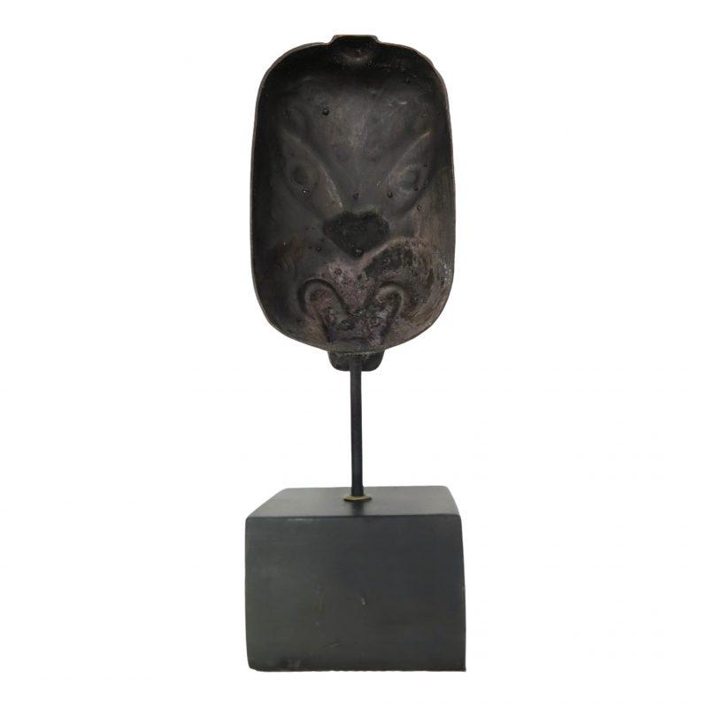 Masque Maori DZ Galerie d'art à Nice dos