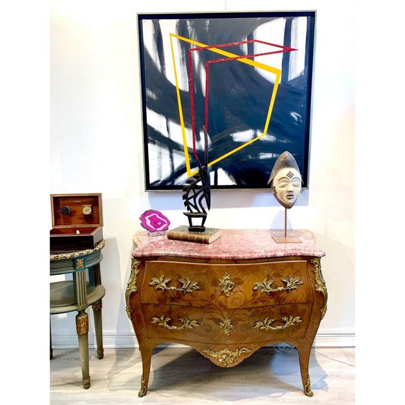 Coiffe Tiwara objets de collection africain DZ Galerie d'art à Nice décoration 2