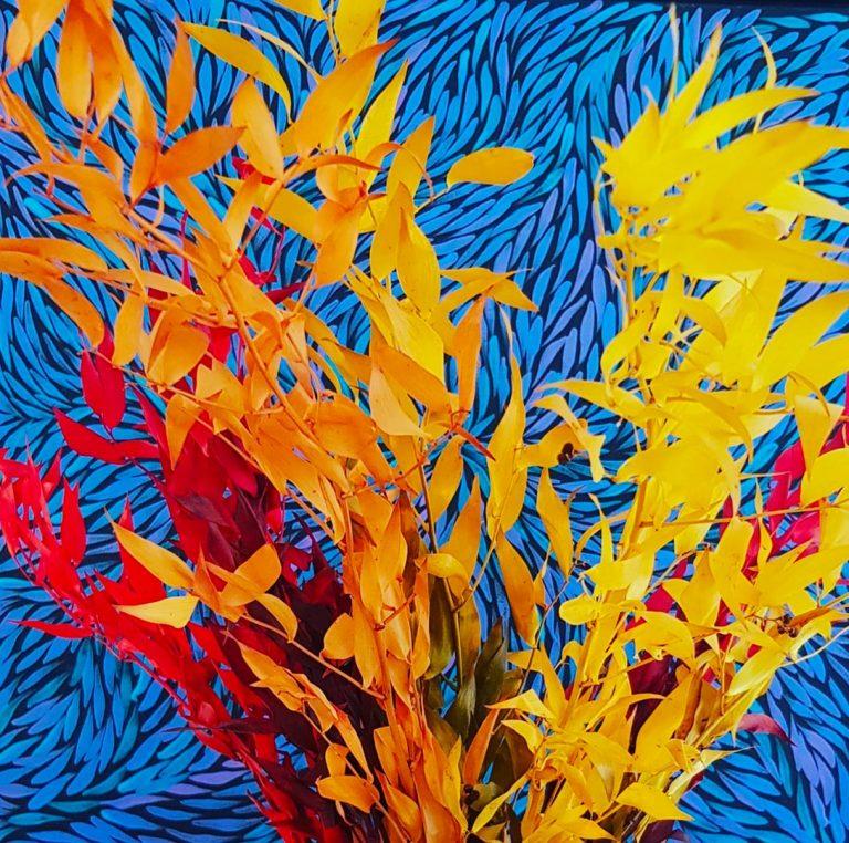 Jeannie Pitjara peintre aborigène contemporain DZ Galerie art Nice