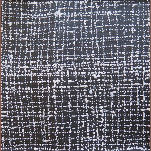 Mina Mina Jukurrpa – Ngalyipi gris Julie Nangala Robertson DZ Galerie