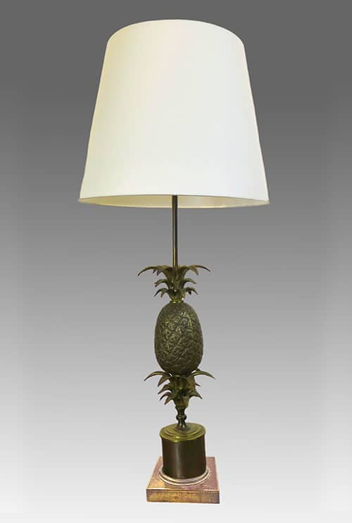 Lampe ananas Maison Charles DZ Galerie art Nice abat-jour