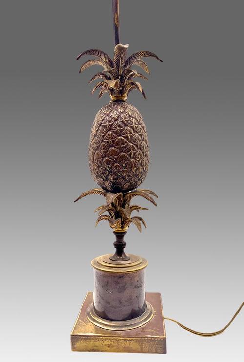 Lampe ananas Maison Charles DZ Galerie art Nice focus