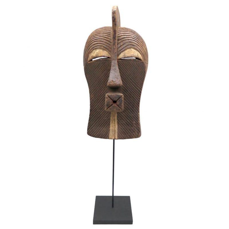Masque Kifwebe Songye DZ galerie d'art à Nice