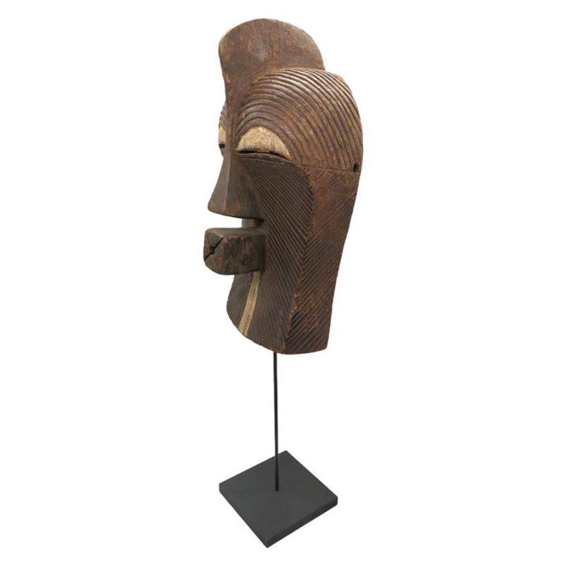 Masque Kifwebe Songye DZ galerie d'art à Nice côte