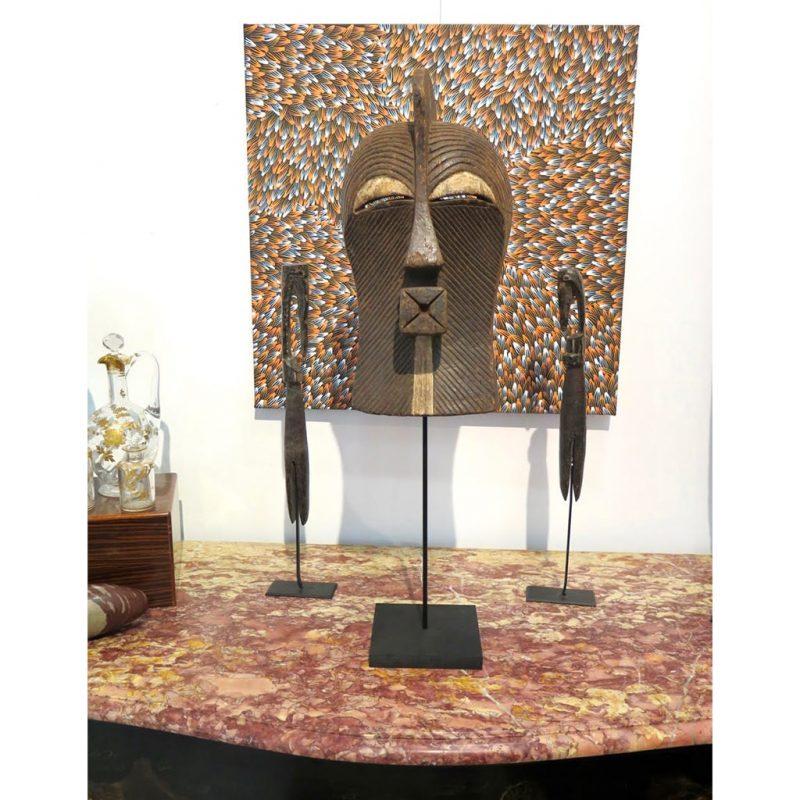 Masque Kifwebe Songye DZ galerie d'art à Nice décoration 1
