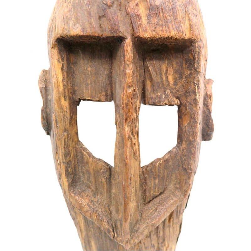 Masque Dogon objet de collection africain DZ galerie d'art à Nice focus