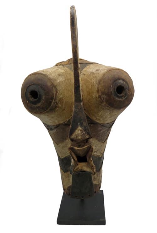 Masque africain Kifwebe Songye DZ Galerie art Nice face