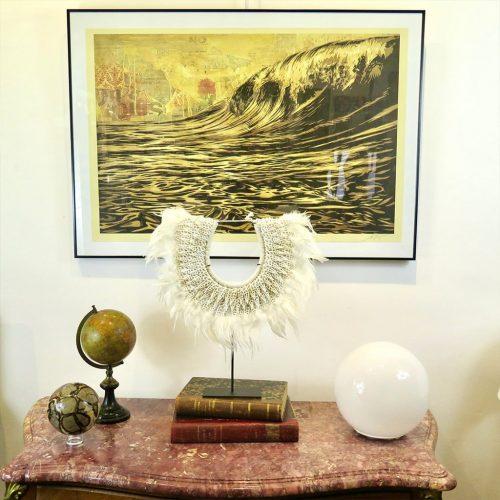 Parure de cérémonie DZ Galerie art Nice décoration