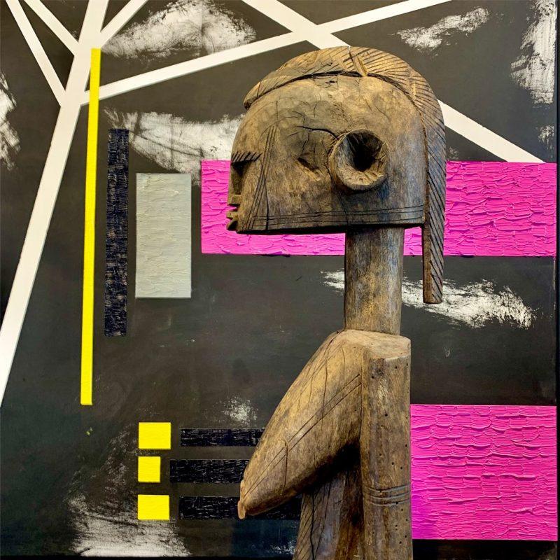 Statue Bambara DZ Galerie d'art à Nice décoration