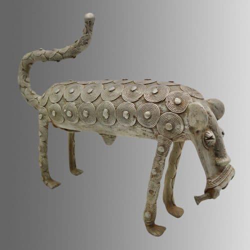 Statue léopard Koulango DZ Galerie d'art à Nice