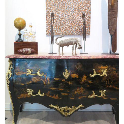 Statue léopard Koulango DZ Galerie d'art à Nice décoration