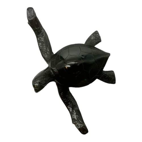Tortue en bronze noir DZ Galerie Nice